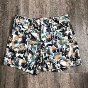 Butterfly pattern shorts